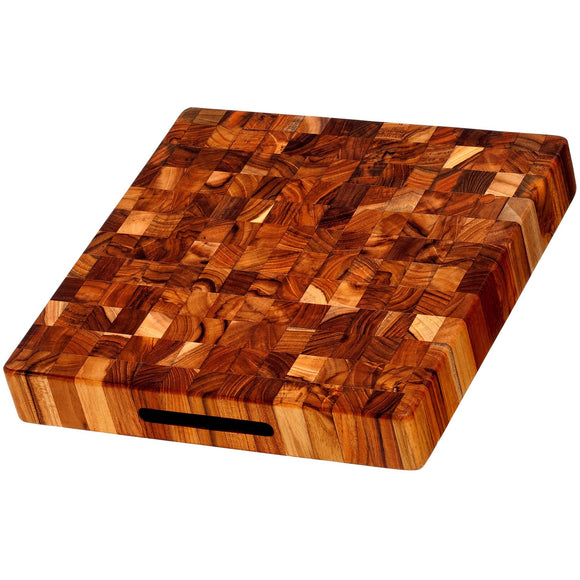 Teak Square Chopping Block