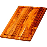 Teak Full Size Cutting Board  with Groove