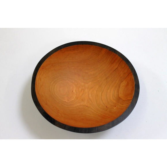 Holland Hardwood Ebonized Cherry Bowl 12