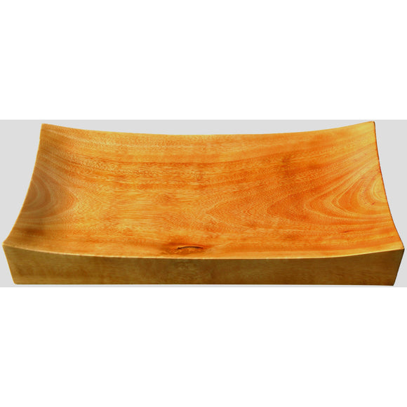 Mango Wood Rectangular Platter Small