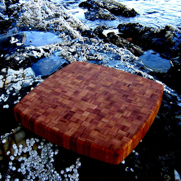 Bamboo Square Chopping Block