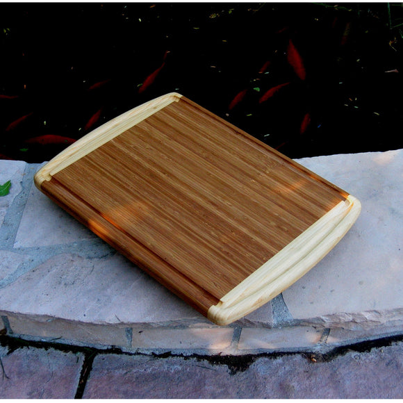 Bamboo Full Size 2 Tone Cutting Board