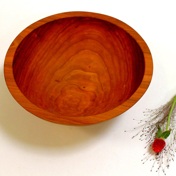 Holland Hardwood Cherry Bowl 15