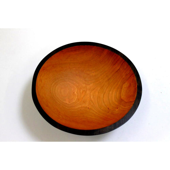 Holland Hardwood Ebonized Cherry Bowl 7.5