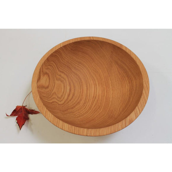 Holland Hardwood Red Oak Bowl 7.5