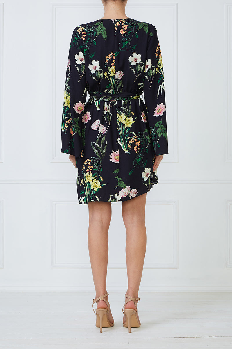 Daffodil Wrap Dress