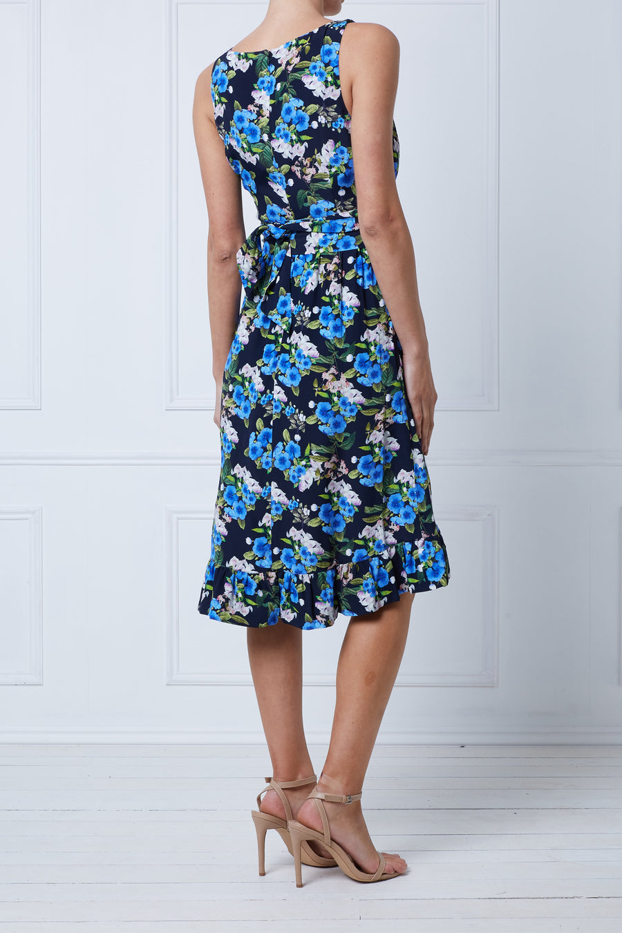 Bluebell Ruffle Wrap Dress
