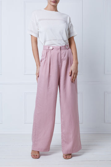Tiger Lily Gather Pant (Blush)