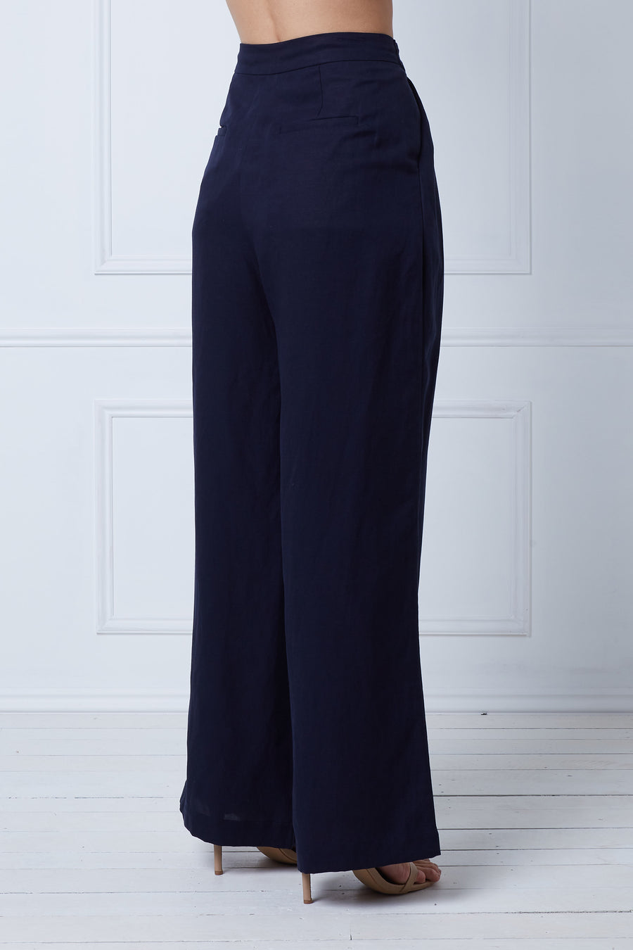 Tiger Lily Gather Pant (Navy)