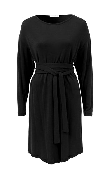 Merino Tie Dress