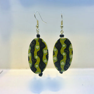 """Green with Envy"" Dangle Earrings"