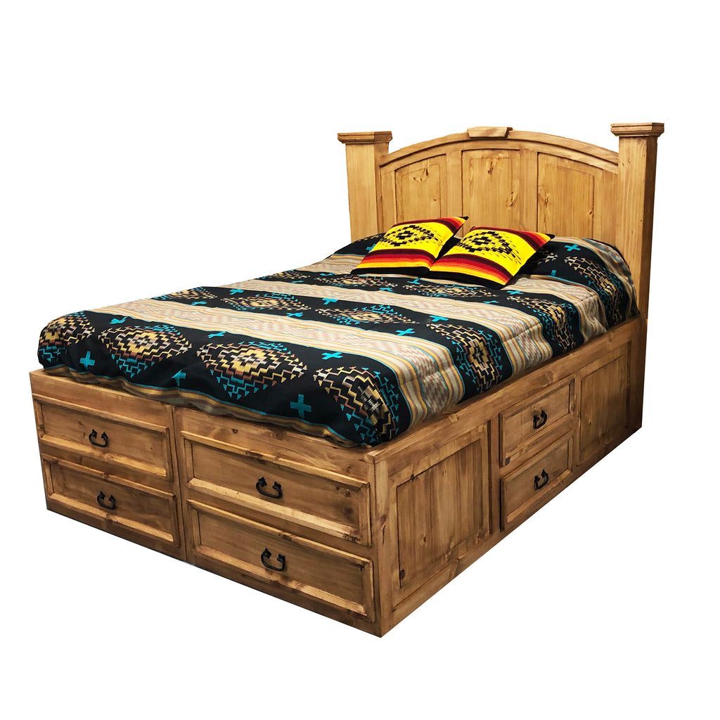 Dorado Bed Base and Headboard