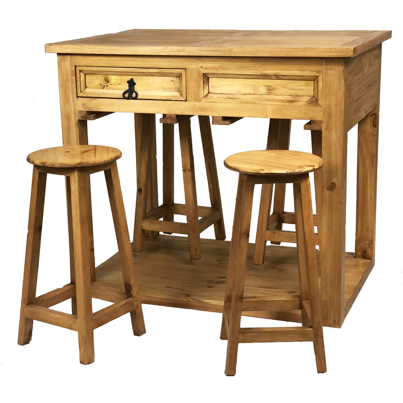 Kitchen Island w/ 4 Stools