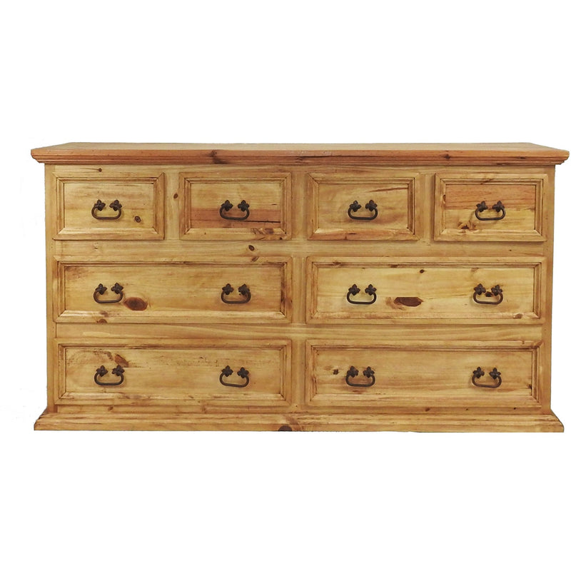 Traditional 8  Drawers Dresser