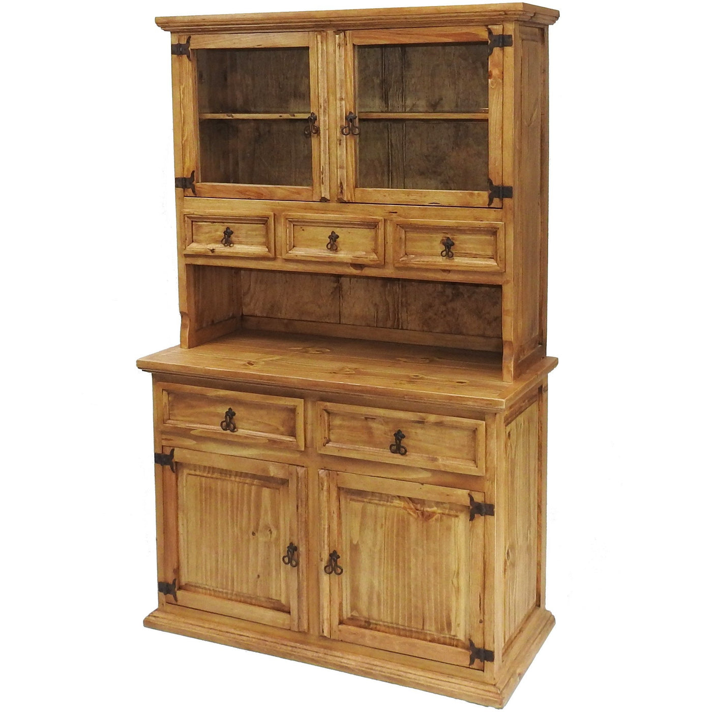 Traditional Small Hutch Buffet Rustics For Less