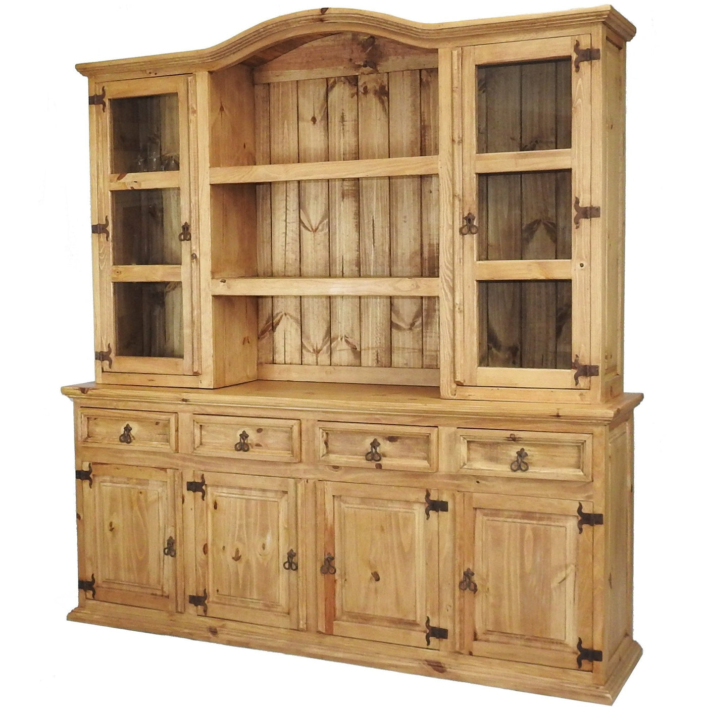 Traditional Large Hutch Buffet Rustics For Less