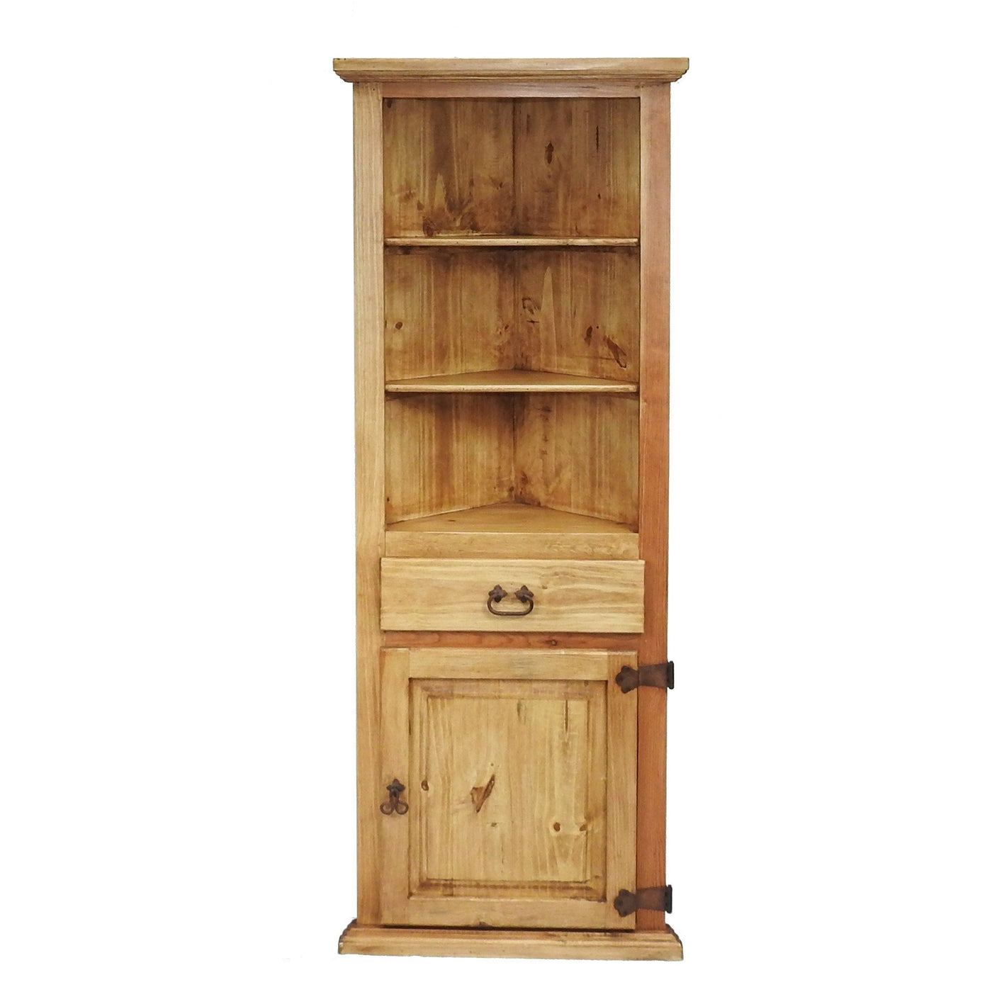Traditional Small Corner Hutch Rustics For Less
