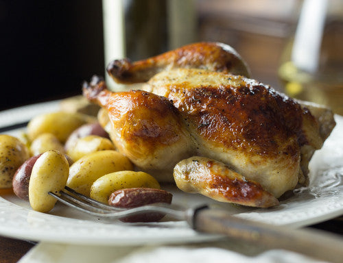 Roasted Cornish Hens (NF) (GF) ~ 10 Oz. ~ Chabad Schita