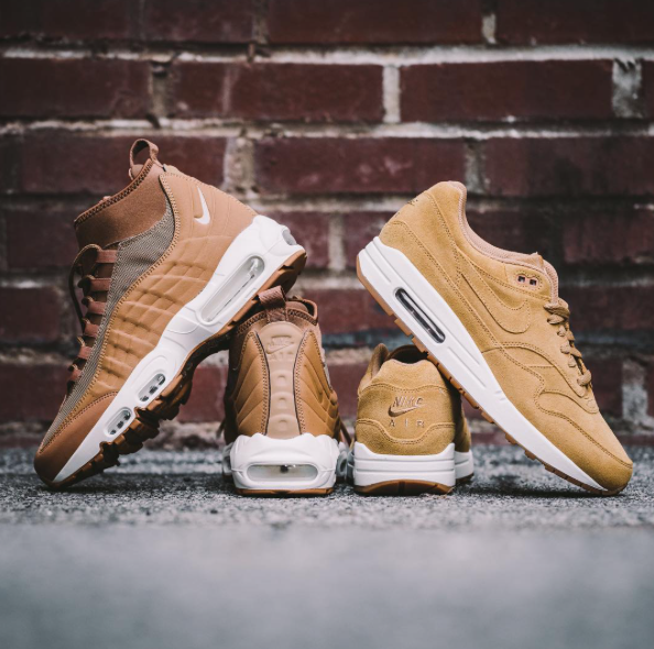 "AIR MAX '95 SNEAKERBOOT & AIR MAX '90 ""WHEAT PACK"""