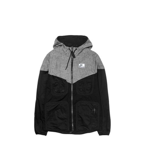 NIKE - INTERNATIONAL WINDRUNNER HOODED JACKET (BLACK)