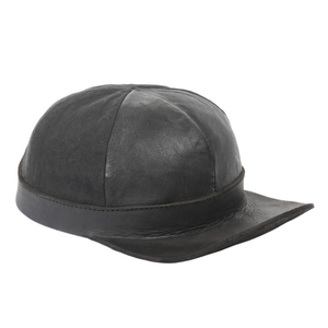 HEATHEN - CAFE RACER CAP (BLACK)