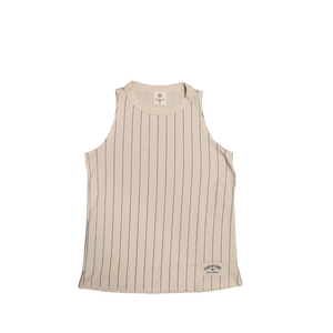 YEAR OF OURS - PINSTRIPE P.E. TANK (CREAM/BLUE)