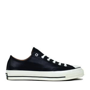 CONVERSE - CHUCK TAYLOR ALL STAR '70 OX (BLACK LEATHER/NATURAL)