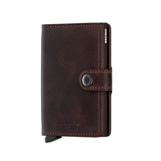 SECRID - MV-CHOCOLATE (MINIWALLET VINTAGE CHOCOLATE)