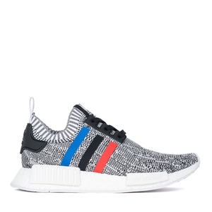 "NMD_R1 PRIMEKNIT ""TRI-COLOR"" (WHITE/CORE RED/CORE BLACK)"