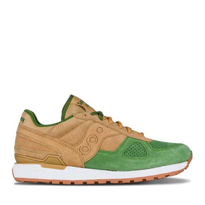 SAUCONY - SHADOW ORIGINAL (TAN/GREEN)