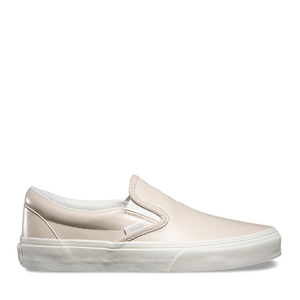 VANS - WMNS CLASSIC SLIP-ON (BEIGE LEATHER)