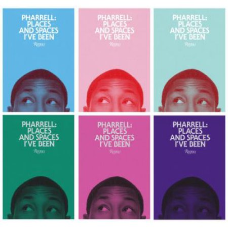 "PHARRELL WILLIAMS: ""PLACES AND SPACES I'VE BEEN"" BOOK"