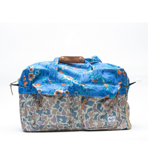 HERSCHEL SUPPLY CO. - WALTON DUFFLE (CAMO/FLORAL)