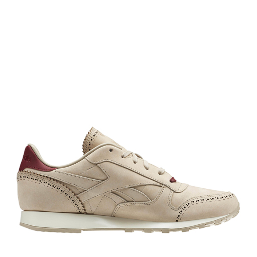 REEBOK - CLASSIC LEATHER LUX HORWEEN (SAND STONE/MERLOT)
