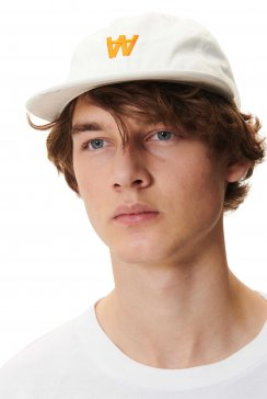 WOOD WOOD  BASEBALL CAP - Off-White