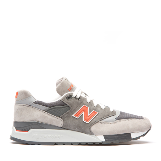 NEW BALANCE - 998 GGO (GREY/ORANGE)