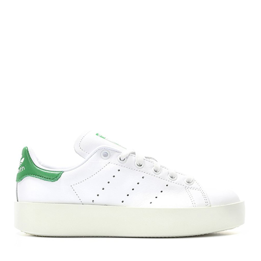 ADIDAS - WMNS STAN SMITH BOLD (WHITE/GREEN)
