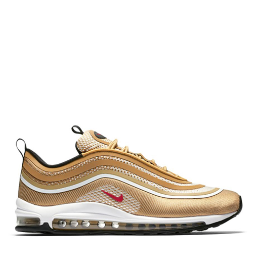NIKE - AIR MAX 97 UL '17 (METALLIC GOLD/ VARSITY RED)