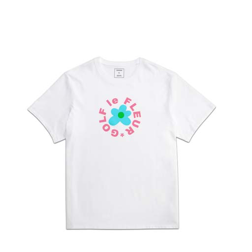 CONVERSE x TYLER THE CREATOR - GOLF LE FLEUR TEE (WHITE)