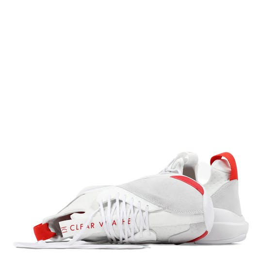 CLEAR WEATHER - CLOUD STRYK (WHITE/RED)