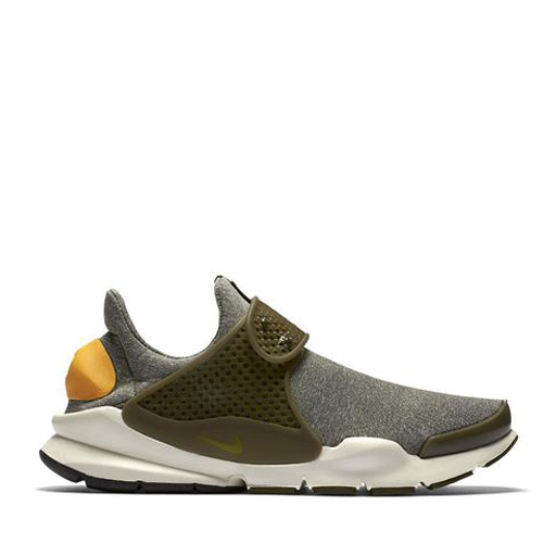 NIKE - WMNS SOCK DART (DARK LODEN/GOLD LEAF), phone order only