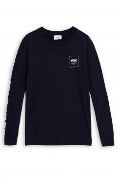 WOOD WOOD LONG SLEEVE - NAVY