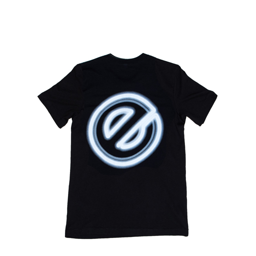 EPITOME TEE - CLASSIC BLACK/ELECTRIC WHITE