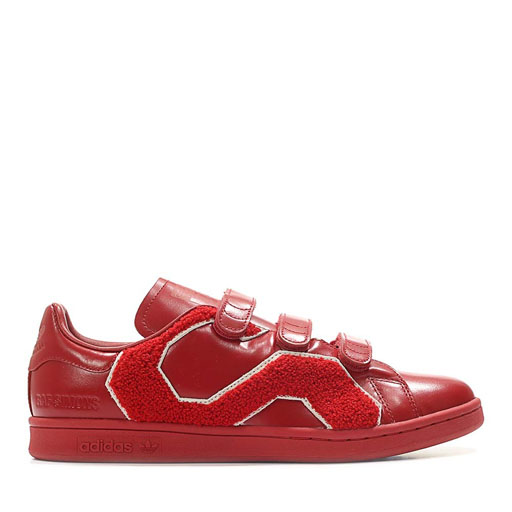 ADIDAS X RAF SIMONS - STAN SMITH COMFORT BADGE (POWER RED)