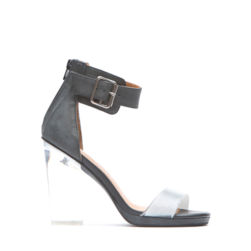 JEFFREY CAMPBELL - SOIREE (BLK DISTRESSED/3M/CLEAR) *EPITOME EXCLUSIVE)