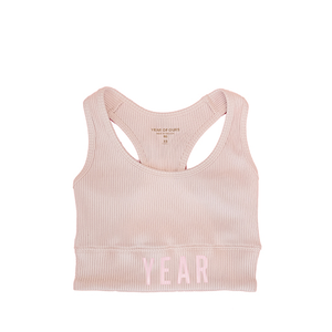YEAR OF OURS - RIBBED YEAR BRA (PINK)
