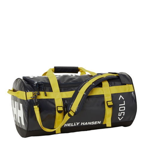 HELLY HANSEN - HH DUFFEL BAG (BLACK/YELLOW)