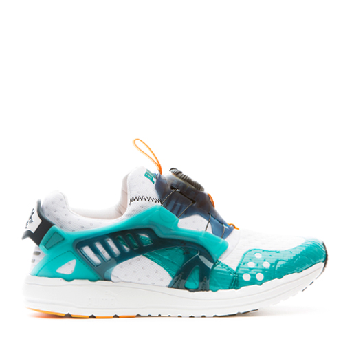 PUMA - DISC BLAZE TECH (WHT/TEAL)