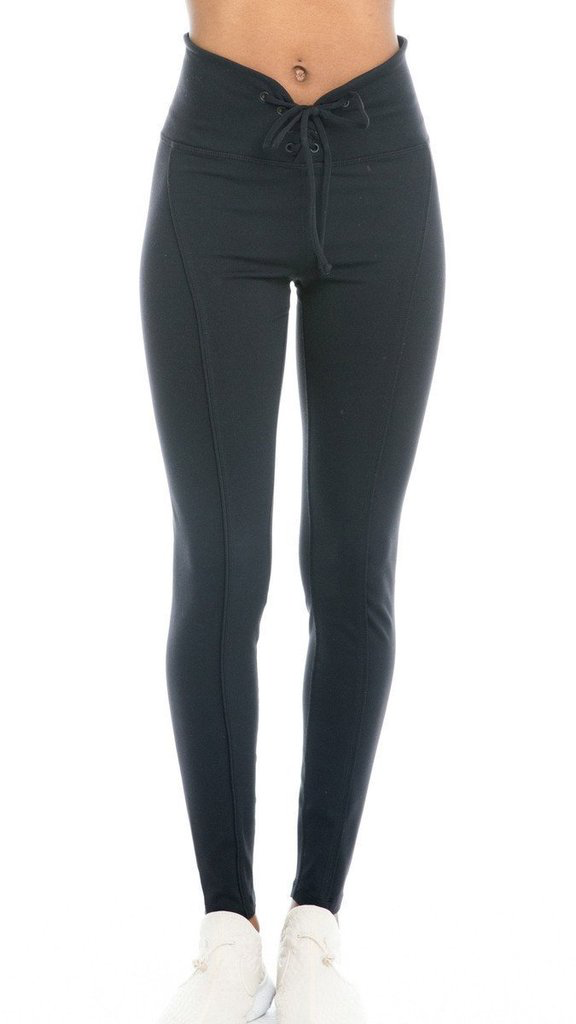 YEAR OF OURS - FOOTBALL LEGGING (BLACK)