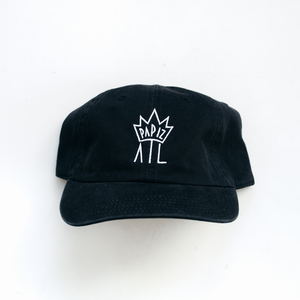 PAPIZ ATL - CROWN DAD HAT (BLACK)